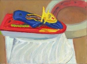 still life boat